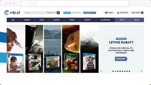 CDP Hero Screen