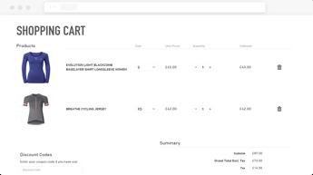 Odlo_Shopping_Cart_Screen