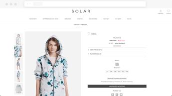 Solar Product Screen