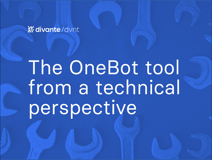 The OneBot tool from a technical perspective