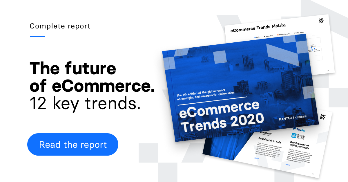 eCommerce Trends 2019. Download free report >