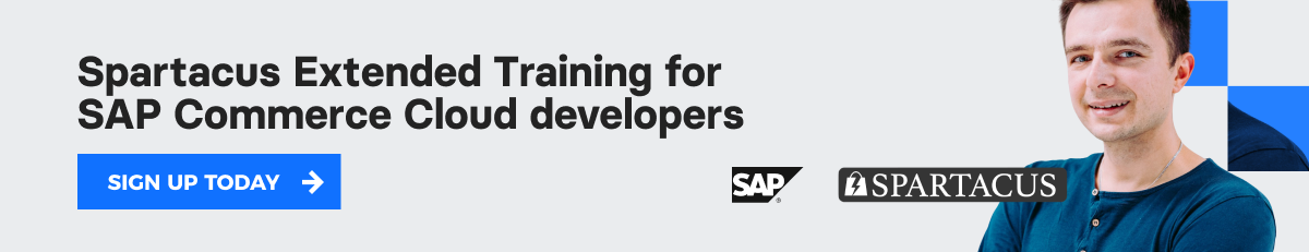 Spartacus Extended Training for SAP Commerce Cloud developers >
