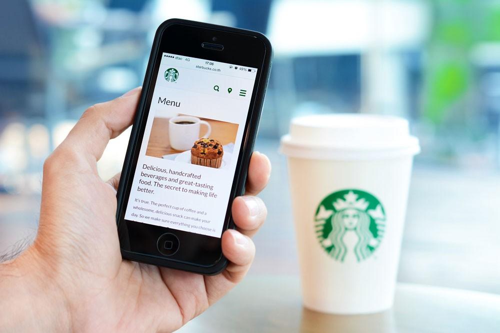 Starbucks voice order