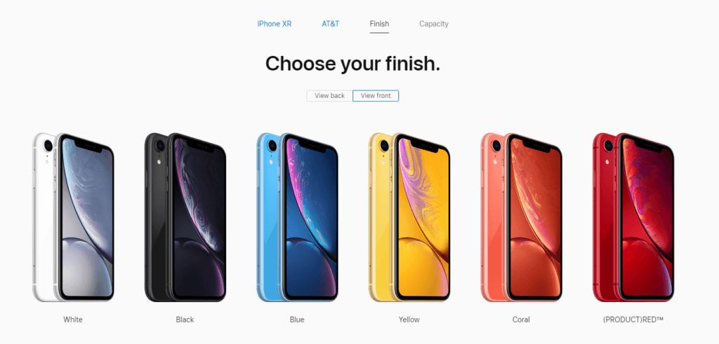 Apple's eCommerce Configurator