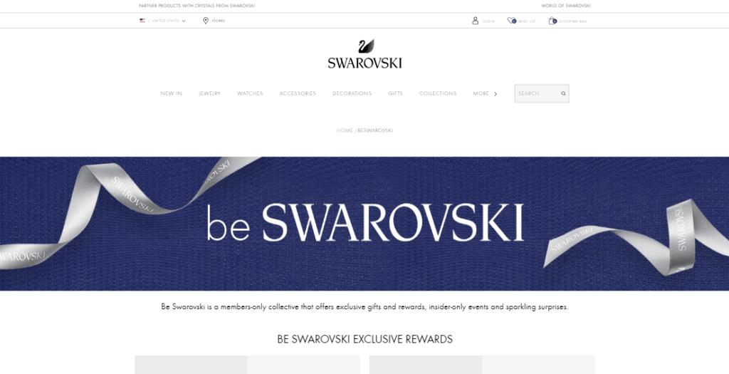 Loyalty program - be Swarovski
