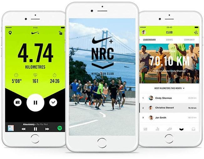 eCommerce loyalty program - Nike - app