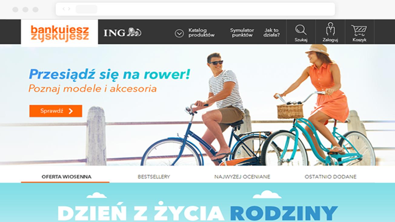ING - Magento-based loyalty program