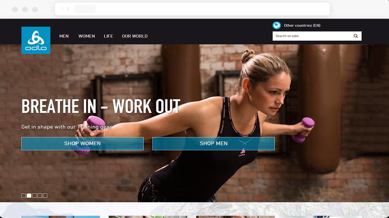 Odlo - Magento optimization and maintenance for sports fashion brand