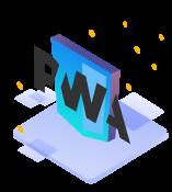 PWA symbol
