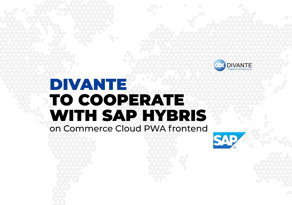 Divante to cooperate with SAP on Commerce Cloud PWA frontend