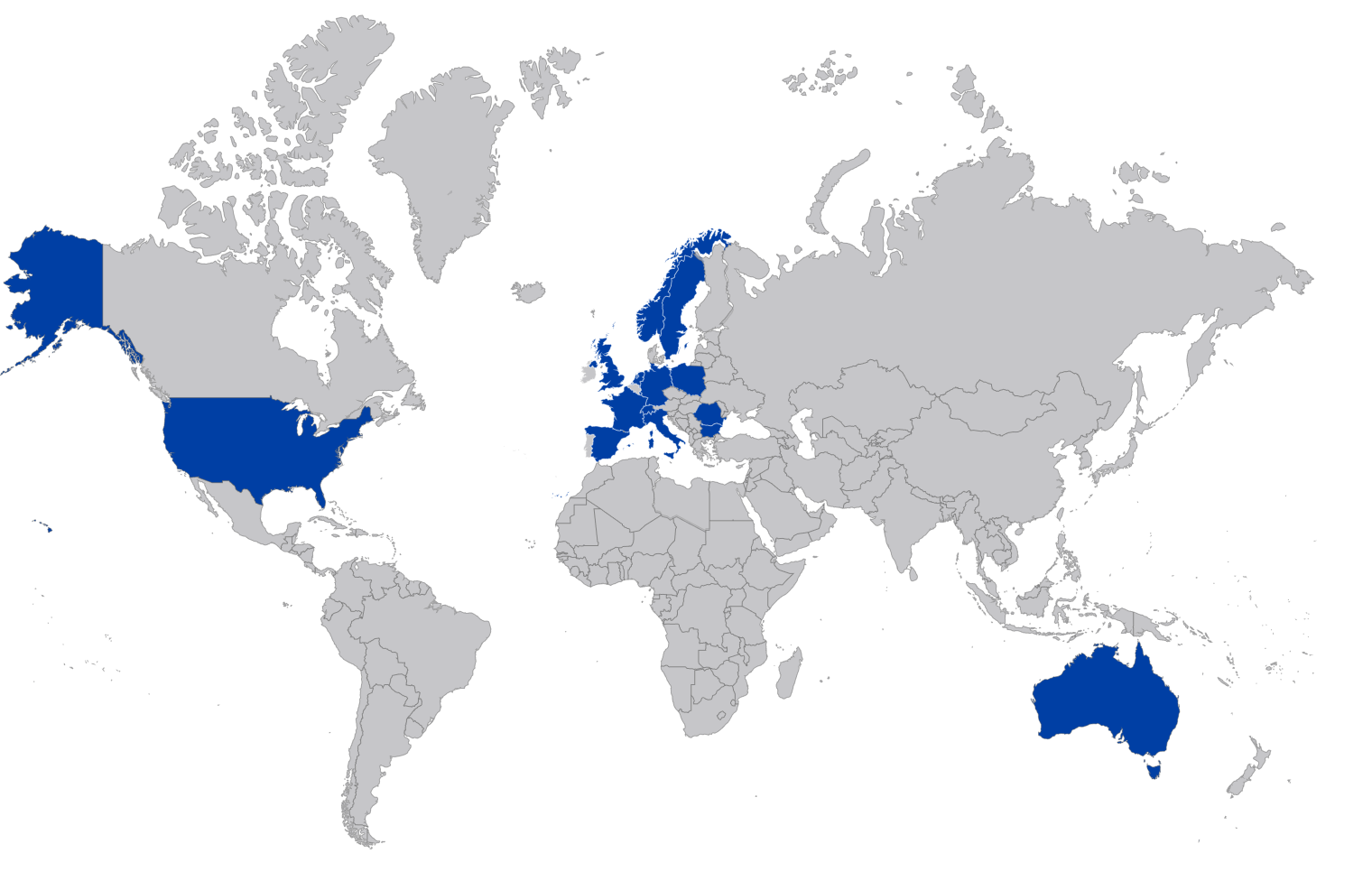 Without Cache (blue)