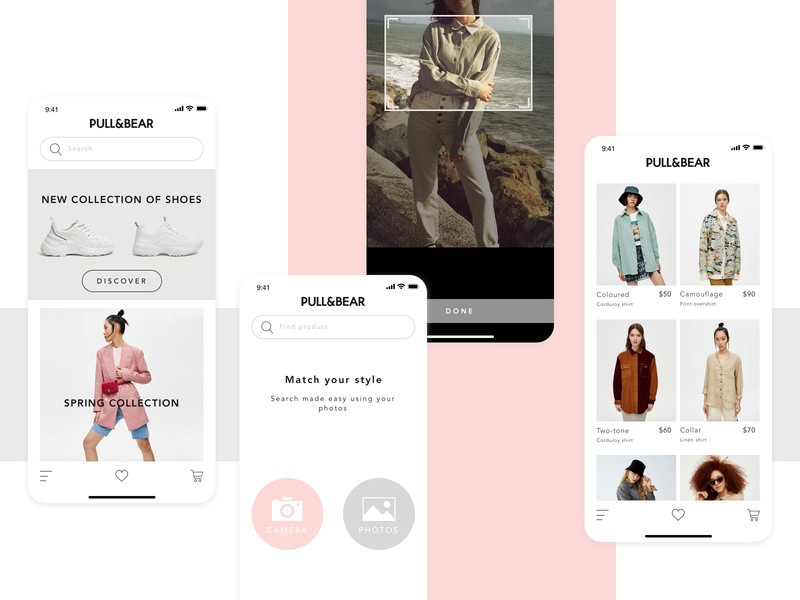 visual search in ecommerce example
