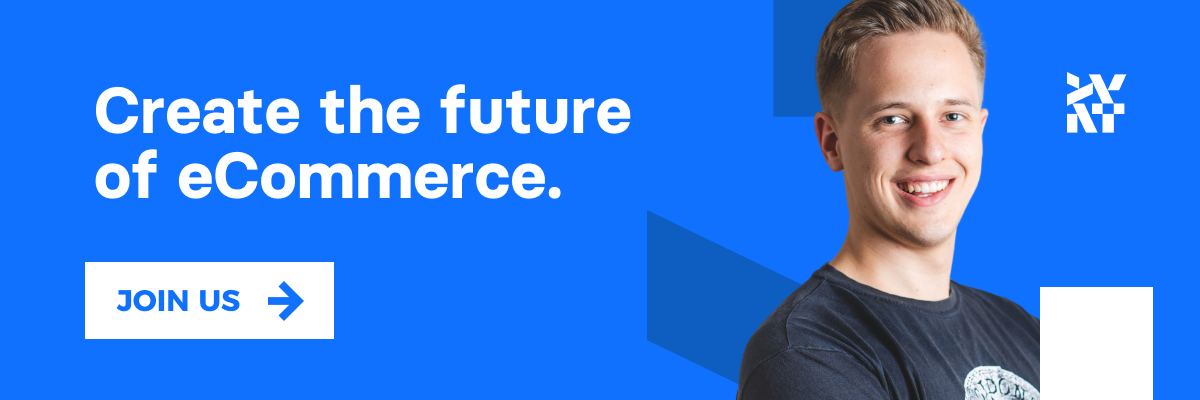 Create the future eCommerce! Join us!