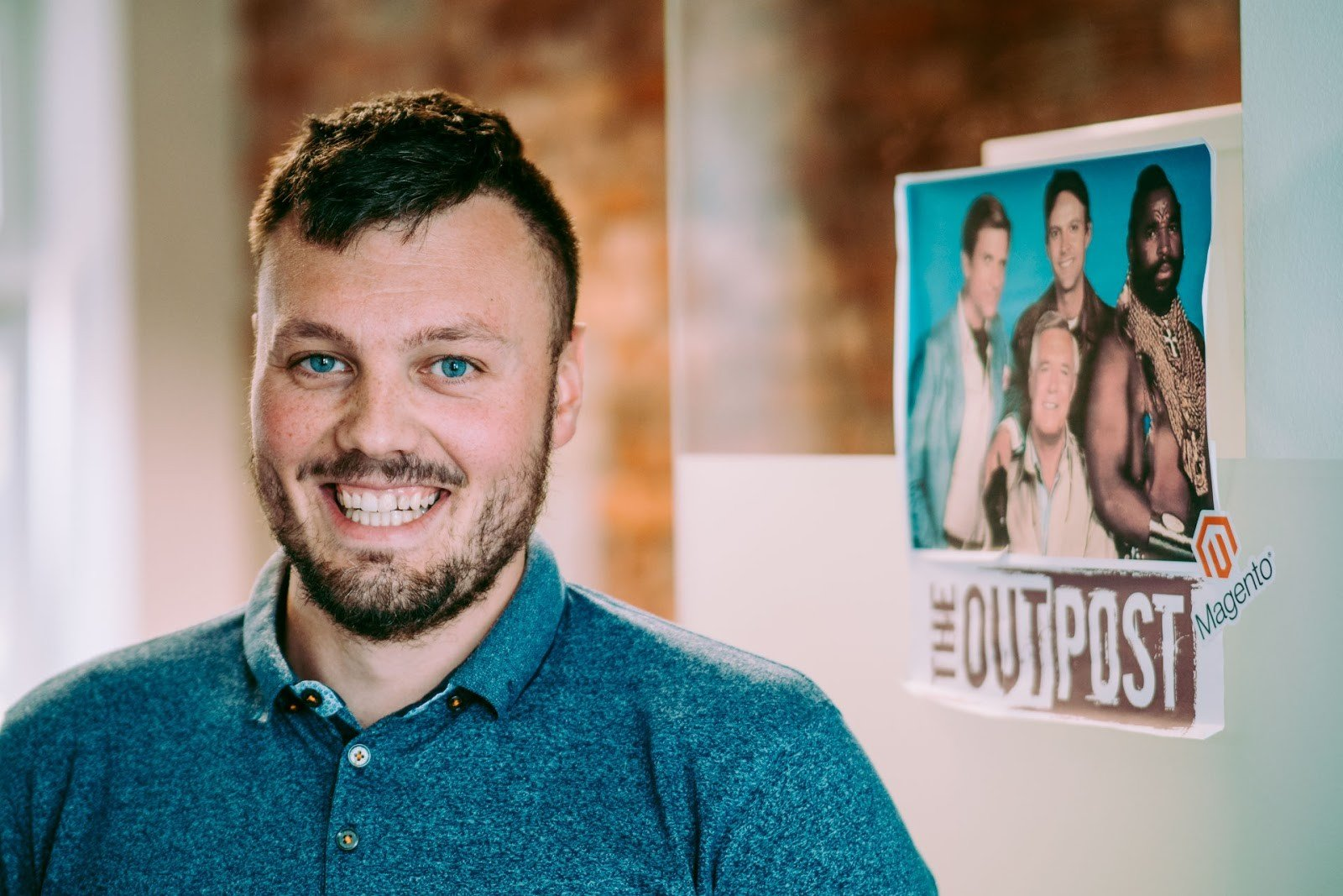 Maciej Wilk is working in the famous A-Team tribe in Divante