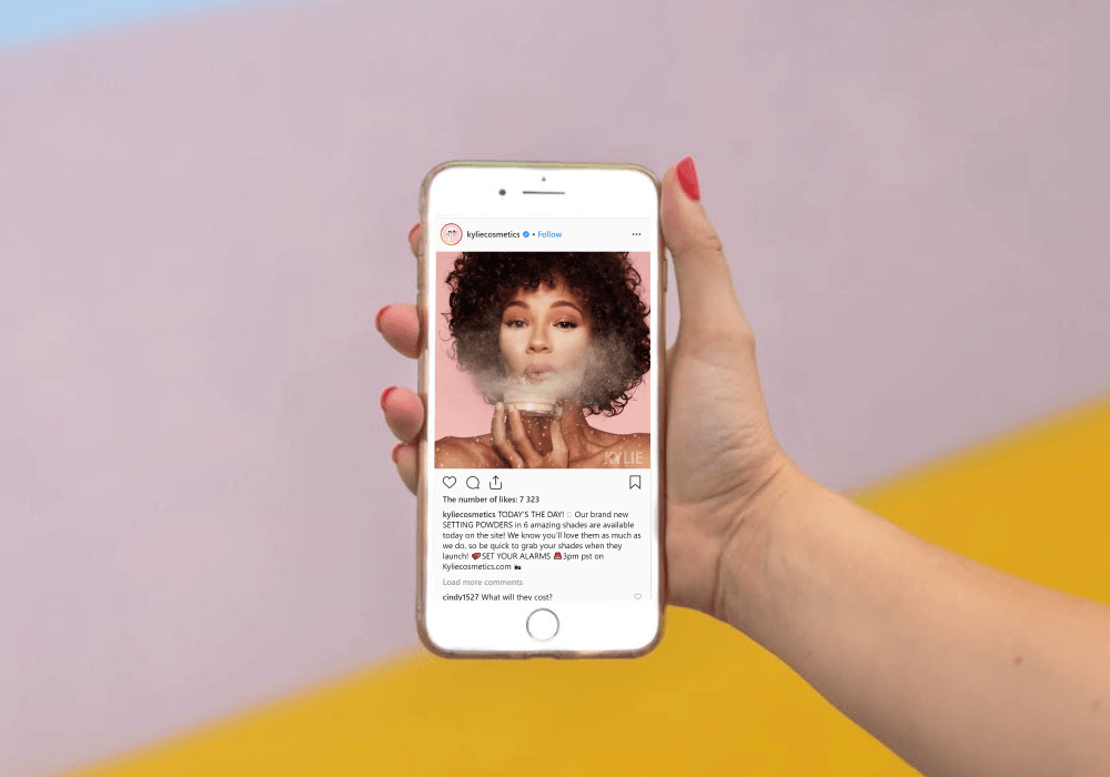 Instagram and influencers for driving revenue in mCommerce