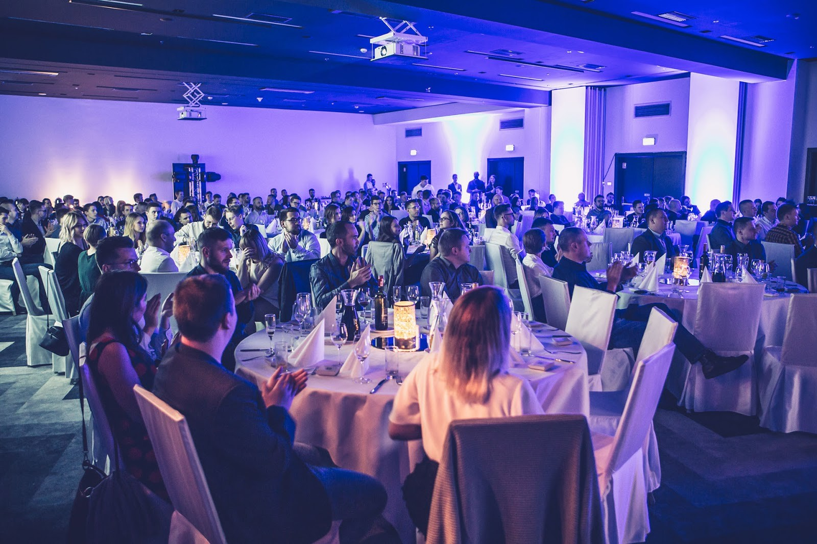 More than 200 people attended the Divante Winter Summit 2019 in Wrocław, Poland, the company's hometown. Photo: Sławek Przerwa