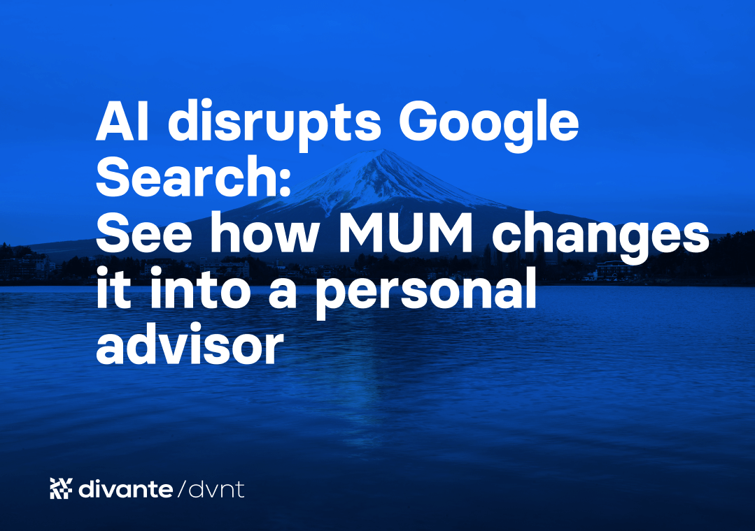 AI disrupts Google Search: See how MUM changes it into a personal advisor   Divante