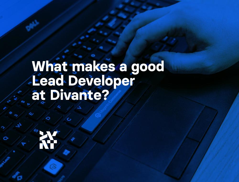 What makes a good Lead Developer in Divante? | Divante