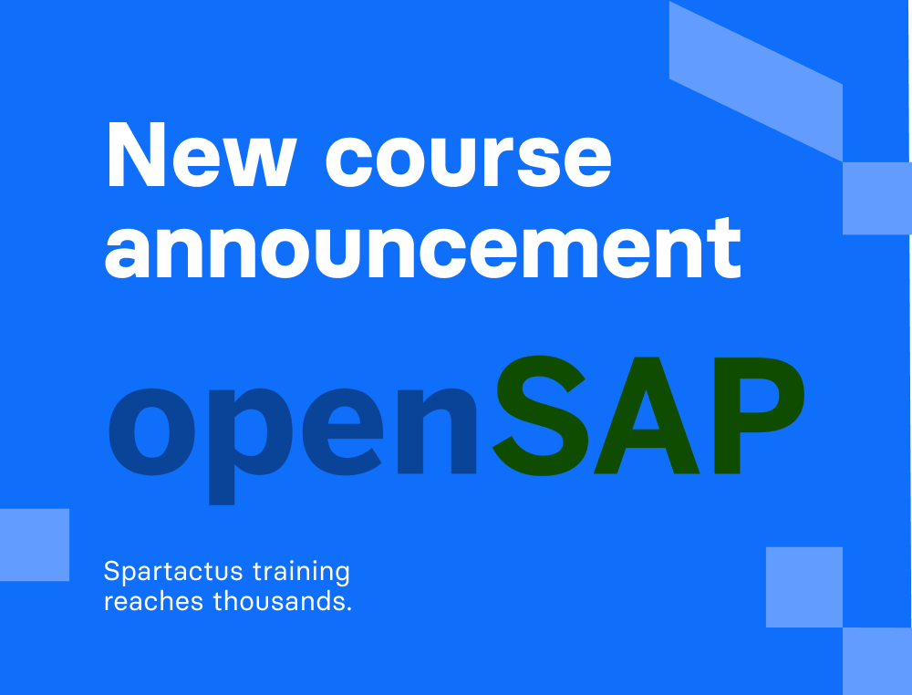 Spartacus training reaches thousands. New course announcement.   Divante