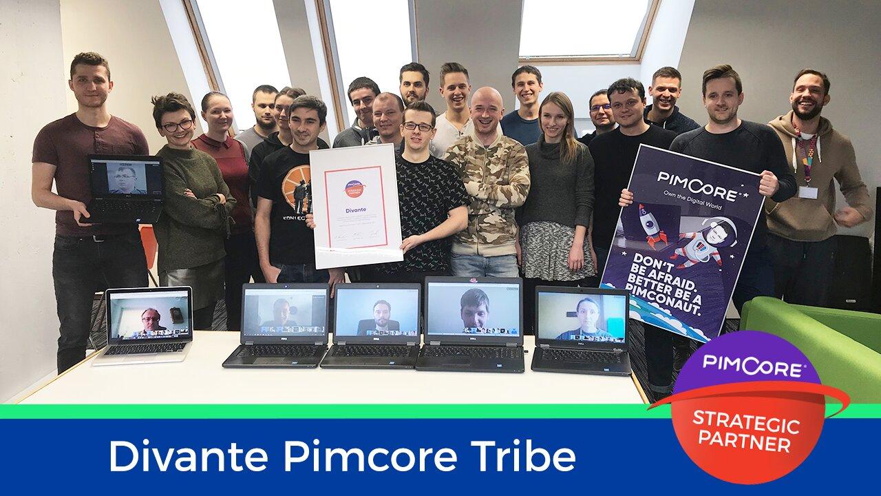 Divante has become a Strategic Partner of Pimcore