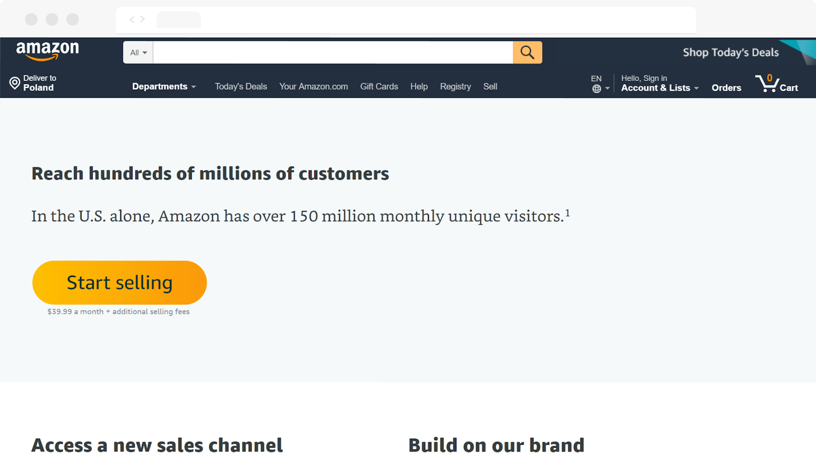 amazon in A complete guidebook on online eCommerce marketplaces