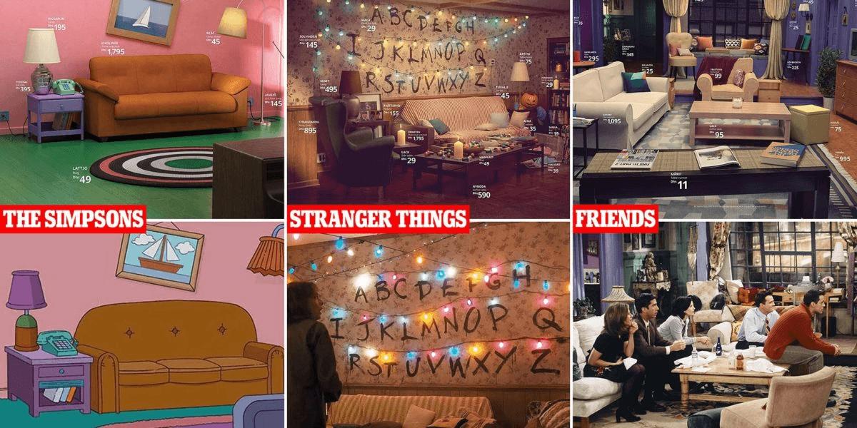 IKEA – content marketing built around iconic TV series