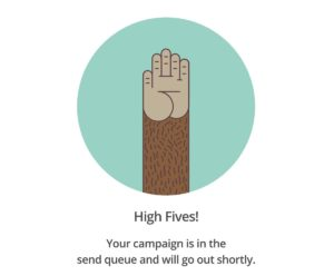 High Fives by Mailchimp