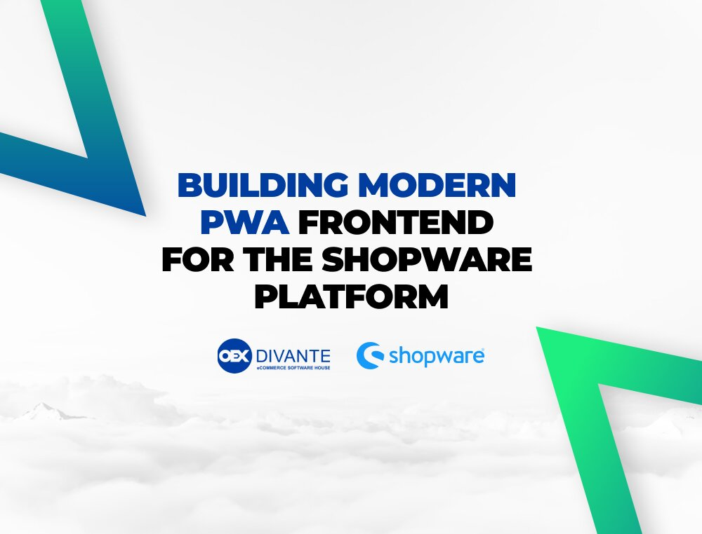 Divante to become exclusive technology partner for Shopware PWA frontend