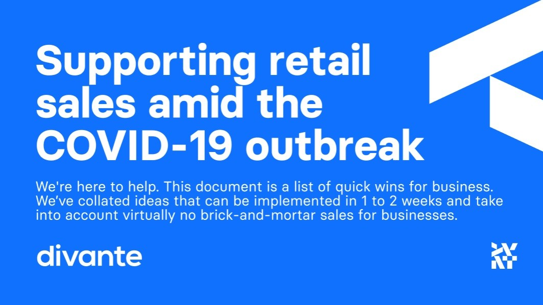 Free guide: Supporting retail sales amid the COVID-19 outbreak