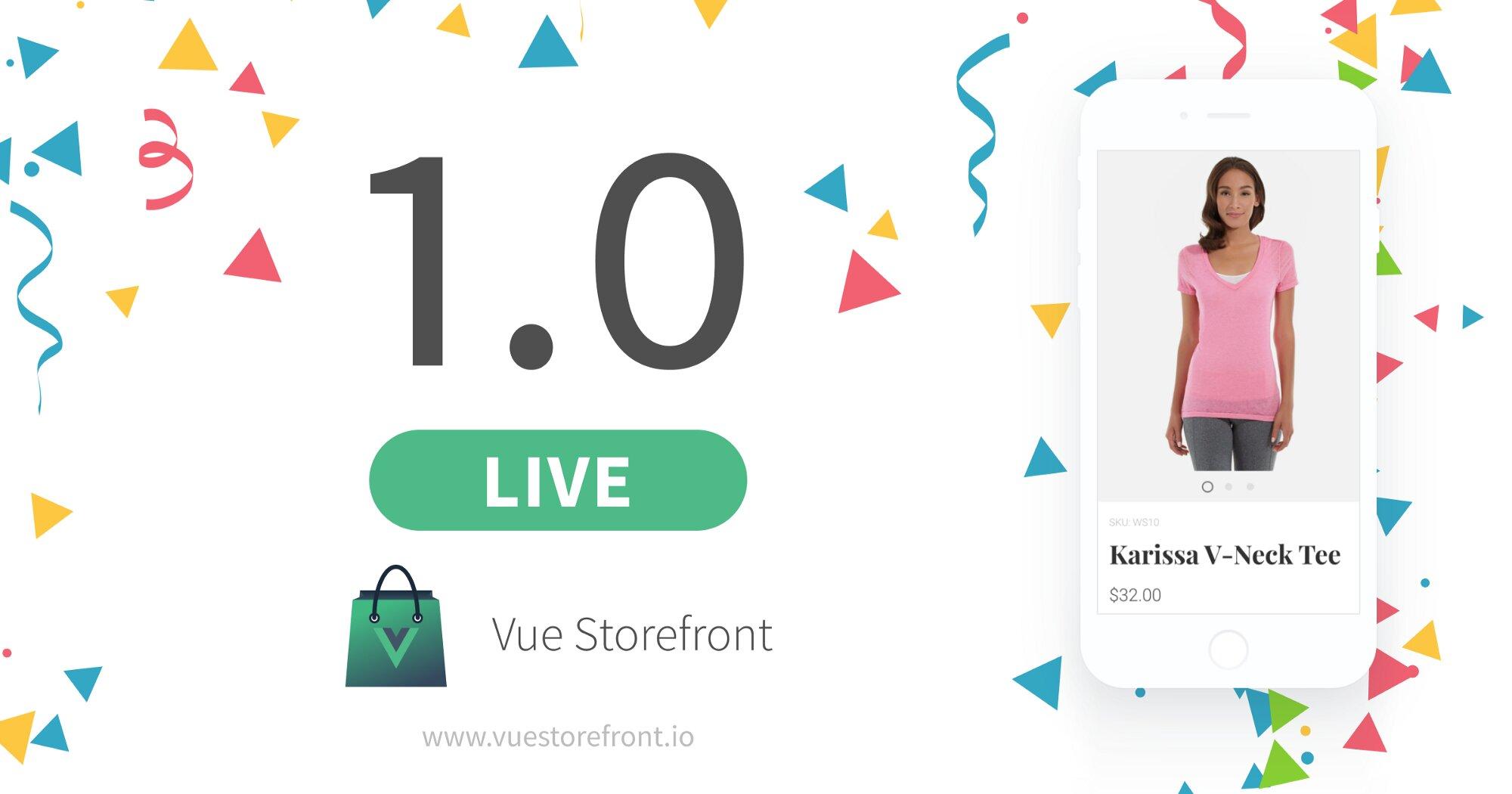 Divante presents Vue Storefront 1.0 and new partners
